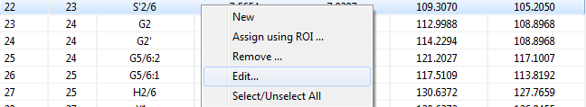 Edit ROI