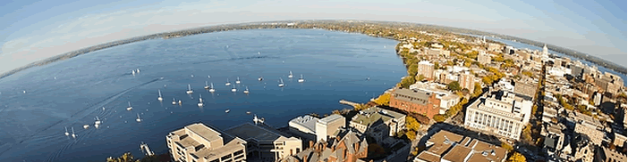 skyview of Madison