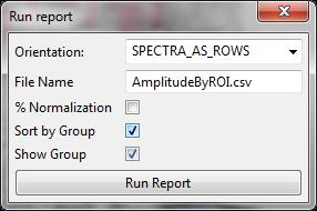 run report