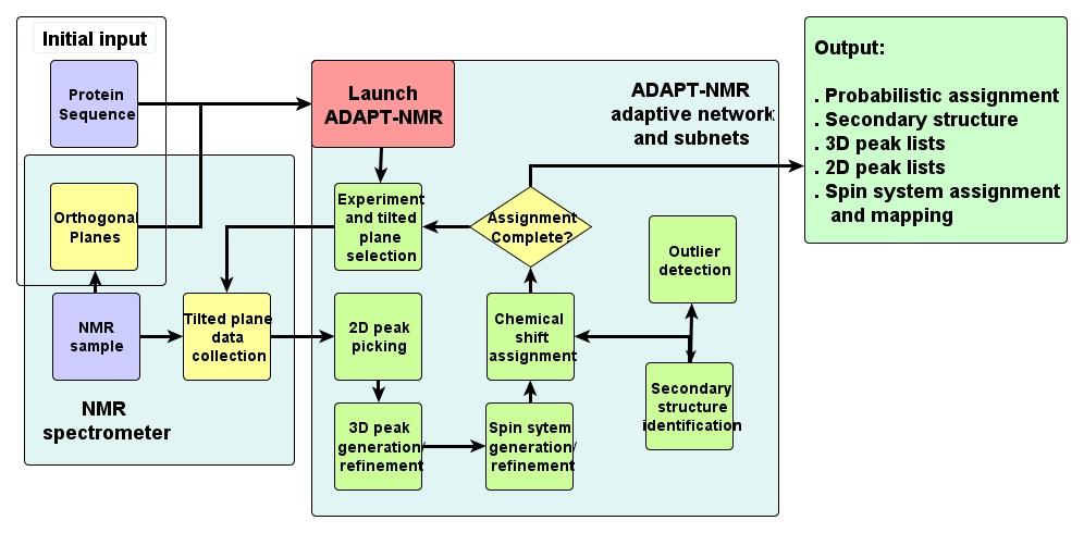 adapt nmr algorithm flow