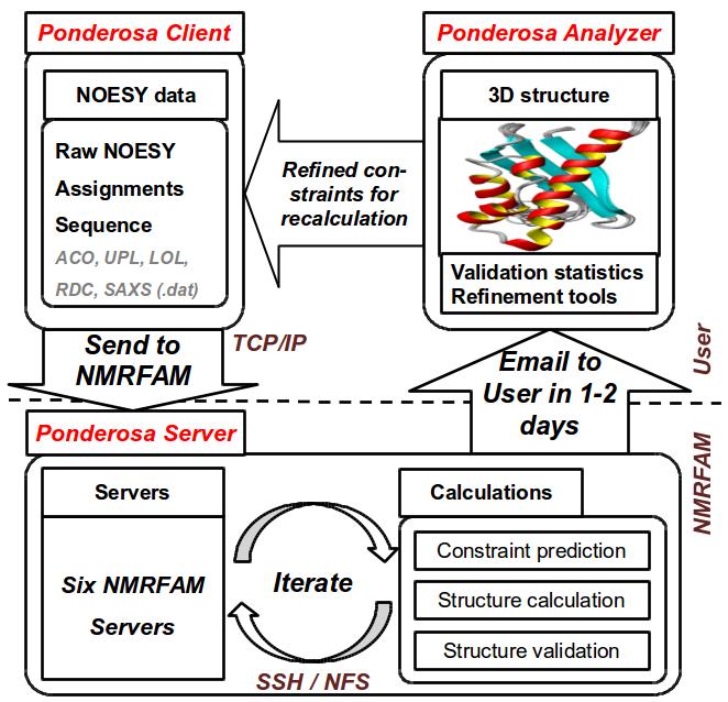 schematic diagram of ponderosa - c/s package
