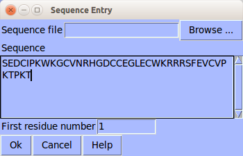 sequence entry